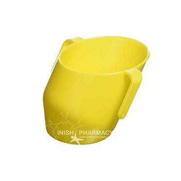 Doidy Cup - The Unique Training Cup from Bickiepegs - 3 Months+ Yellow
