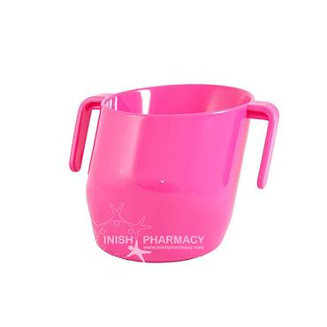 Doidy Cup - The Unique Training Cup from Bickiepegs - 3 Months+ Pink