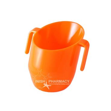 Doidy Cup - The Unique Training Cup from Bickiepegs - 3 Months+ Orange