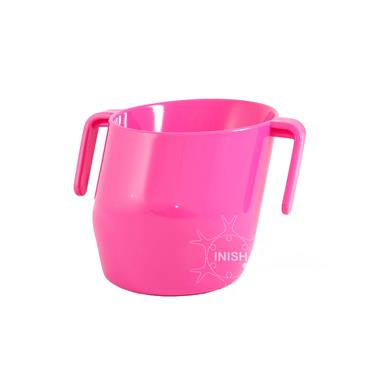Doidy Cup - The Unique Training Cup from Bickiepegs - 3 Months+ Baby Pink
