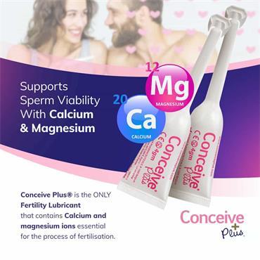 Sasmar Conceive Plus Fertility Lubricant - 8 Pre-Filled Applicators