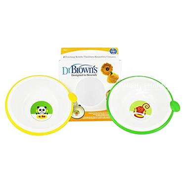 Dr Browns Designed To Nourish 2 Feeding Bowls
