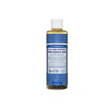 Dr Bronner's Peppermint Pure-Castile Soap 237ml