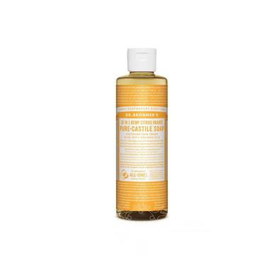 Dr Bronner's Citrus Orange Pure-Castile Soap 237ml