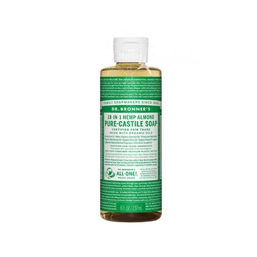 Dr Bronner's Almond Pure-Castile Soap 237ml