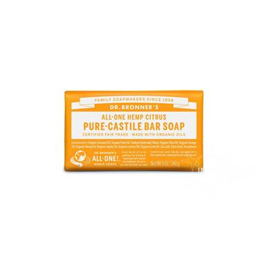 Dr Bronner's Citrus Orange Pure-Castile Soap 140g