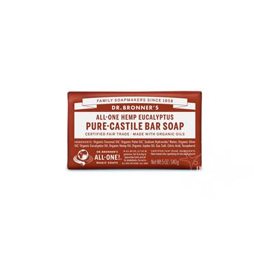 Dr Bronner's Eucalyptus Pure-Castile Soap 140g