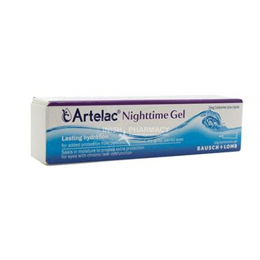 Artelac Nighttime Gel Lasting Hydration For Irritated Dry Eyes 10g.