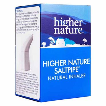 Higher Nature The Saltpipe Natural Respiratory Aid
