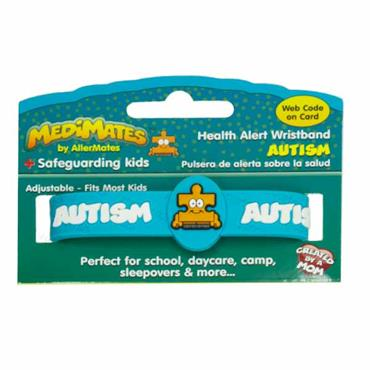 Medimates Autism Awareness Wristband by Allermates