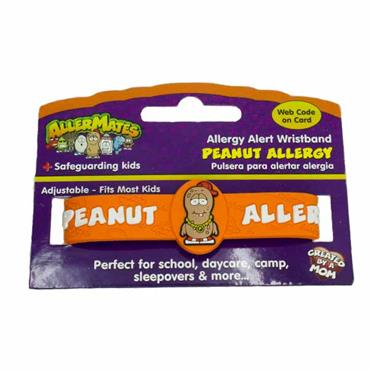 Allermates Peanut Allergy Awareness Wristband