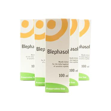 Blephasol Micelle Lotion 100ml 5 Pack