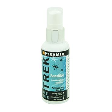 Pyramid Trek Sensitive Deet Free Insect Repellent with Saltidin 60ml