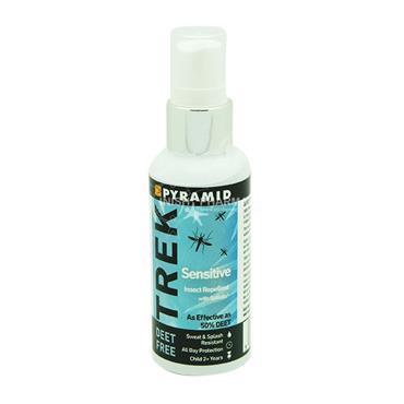 Pyramid Trek Sensitive Deet Free Insect Repellent with Saltidin 60ml