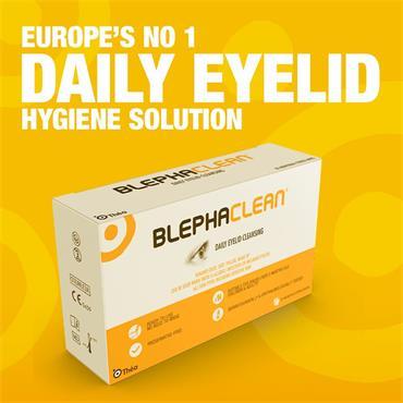 Blephaclean Eyelid Cleansing Wipes 20 Pack