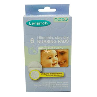 Lansinoh Ultra Thin Disposable Nursing Pads 6 Pack