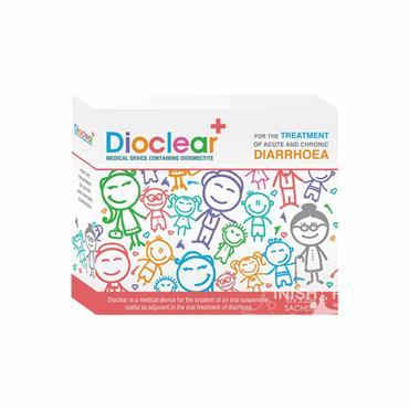Dioclear Diarrhoea Treatment (Diosmetictite) Safe for Babies x 10 Sachets