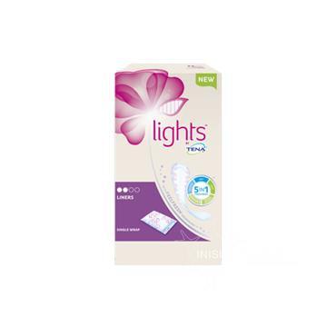 Tena Lights Liners 22 Pack