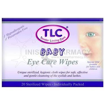 TLC Baby Eye Care 20 Sterilized Wipes