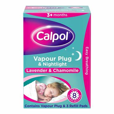 Calpol Soothe and Care Vapour Plug and Nightlight