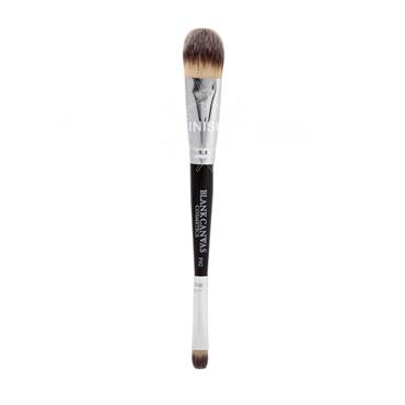 Blank Canvas Cosmetics F02 Double Ended Painter Style Foundation and Concealer Brush