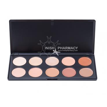 Blank Canvas Cosmetics 10 Cream Contour Palette