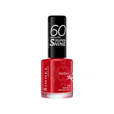 Rimmel 60 Seconds Nail Polish 030 Double Decker Red 8ml