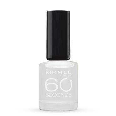 Rimmel 60 Sec Nail Polish 740 Clear 8ml