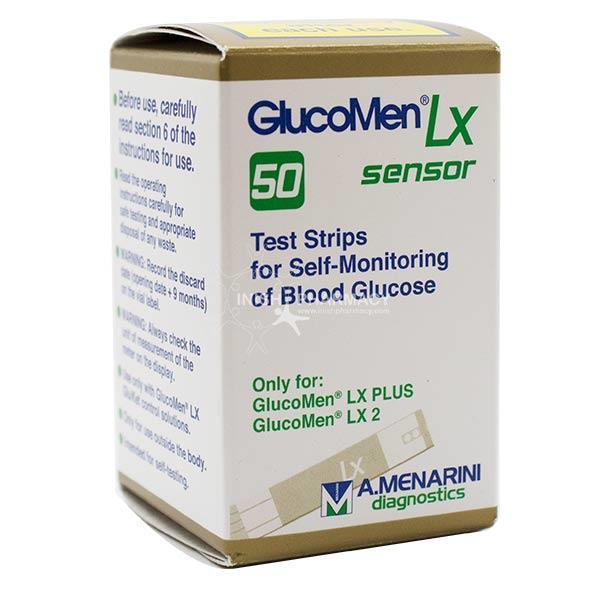 Perfume Tester Strips Uk: Glucomen LX Sensor Test Strips 50 Pack