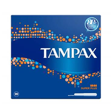 Tampax Super Plus 20 Pack