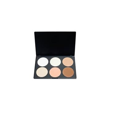 Blank Canvas Cosmetics Powder Contour/Highlight Palette #1
