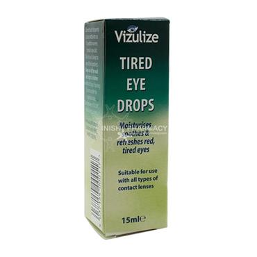 Vizulize Tired Eye Drops 15ml