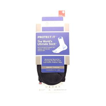 Intelligent Texture Protect It - The Worlds Ultimate Sock (Black - D 45 - 48) 12114