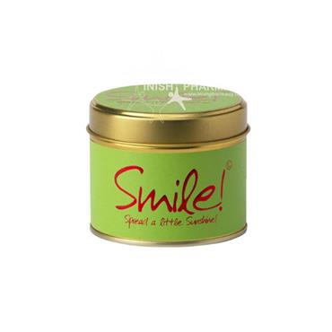 Lily Flame Candle In A Tin Smile