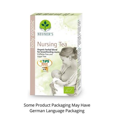 Neuners Organic Herbal Tea Nursing Tea to Support Breastfeeding Mothers 20 Tea Bags