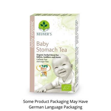 Neuners Organic Herbal Tea Baby Stomach Tea 20 Tea Bags