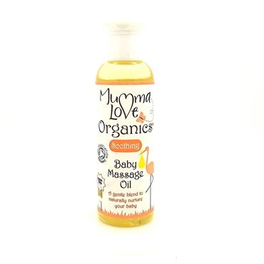 Mumma Love Organics Soothing Baby Massage Oil 100ml