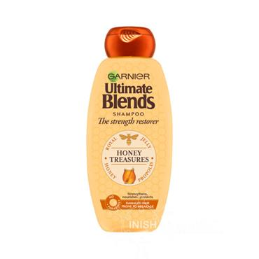 Garnier Ultimate Blends Honey Treasures Shampoo For Damaged Hair 600ml