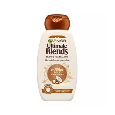 Garnier Ultimate Blends Coconut Milk & Macadamia Shampoo 360ml