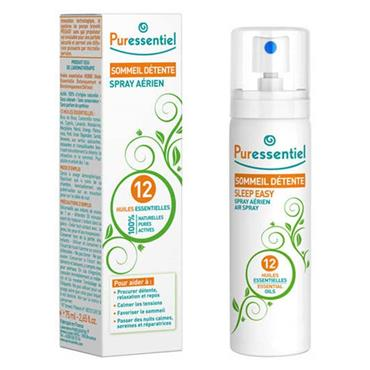 Puressentiel Rest & Relax Air Spray 12 Essential Oils 75ml