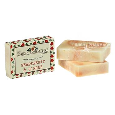 The Donegal Natural Irish Soap Company Handmade Irish Soap Grapefruit & Ginger
