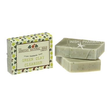 The Donegal Natural Irish Soap Company Handmade Irish Soap Green Clay