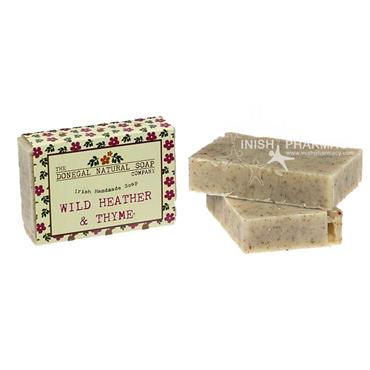 The Donegal Natural Irish Soap Company Handmade Irish Soap Wild Heather & Thyme