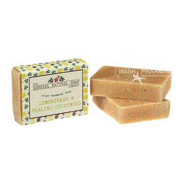 The Donegal Natural Irish Soap Company Handmade Irish Soap Lemongrass & Healing Chickweed