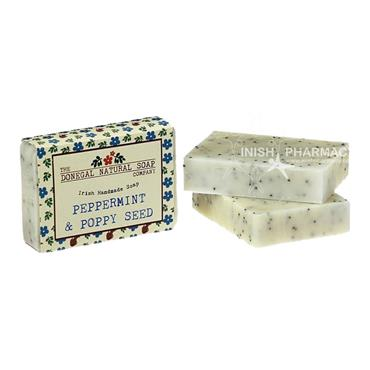 The Donegal Natural Irish Soap Company Handmade Irish Soap Peppermint & Poppyseed