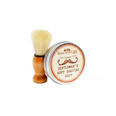 The Donegal Natural Irish Soap Company Shaving Kit
