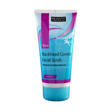 Beauty Formulas Blackhead Control Facial Scrub 150ml 88315