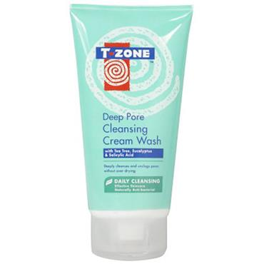 T-Zone Deep Pore Cleansing Cream Wash 150ml