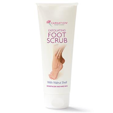Carnation Exfoliating Foot Scrub 100ml