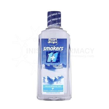 Pearl Drops Smokers Mouthwash 400ml